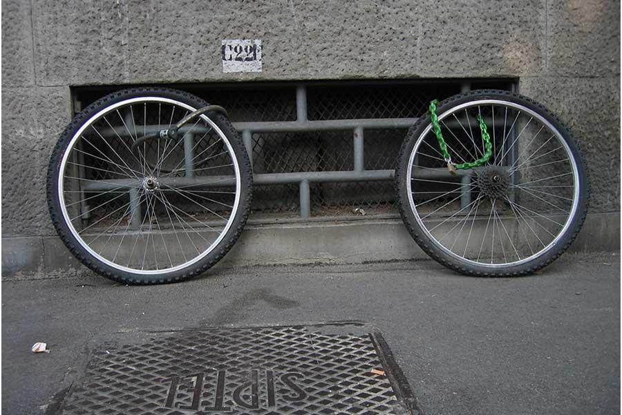 Fahrrad geklaut. Fahrradversicherung hilft