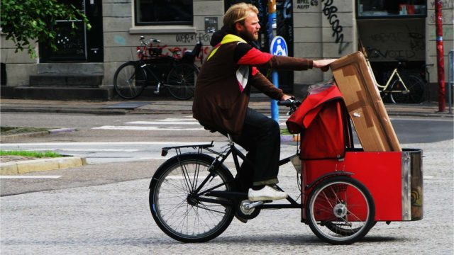 Lasten- und Transportfahrräder – passt alles rein